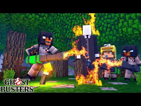 Download Youtube: Minecraft GHOSTBUSTERS - SLENDERMAN HAS KIDNAPPED A BOY IN THE WOODS!!