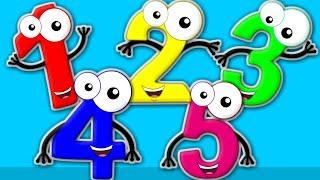 Five Little Numbers | Five Little Monkeys | Five Little Series | Nursery Rhymes