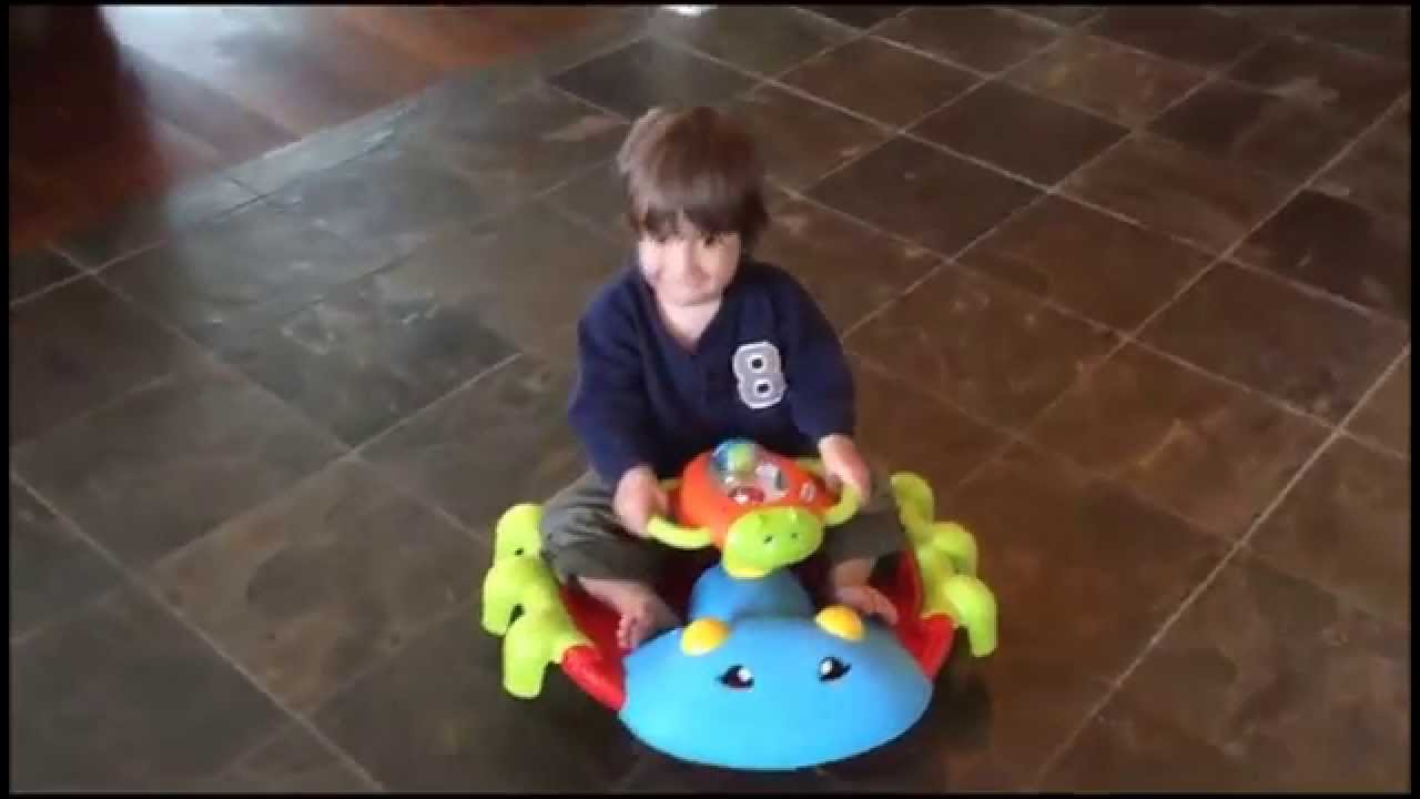 Little Tikes Activity Garden Rock N Spin Review Youtube