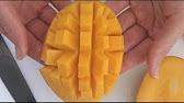 How to cut a mango hedgehog style gourmandize youtube 052 ccuart Choice Image