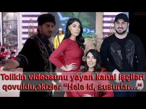 """Tolikin videosunu yayan kanal işçiləri işdən qovuldu,  əkizlər """"hələ ki, susurlar"""""""