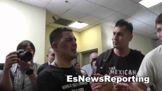 brandon rios after his fight with manny pacquiao EsNews Boxing