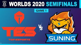Vod of tes vs sng game 1 - world championship 2020: semifinals day 6 top esports suning g1video start: 0:00game 07:55watch all lol games ...