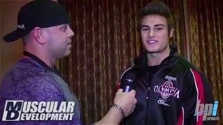 Meet the Olympians: IFBB Pro Jeff Seid Olympia Interview with Muscular Development