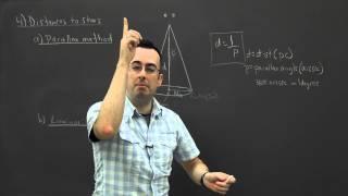 IB Physics SL revision - Option E (Astrophysics) 4 - distances to stars