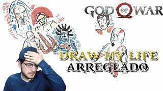 God of War: Draw my life de Kratos ARREGLADO y EXPLICADO (Playstation España)