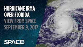 Hurricane Irma Over Florida - View from Space on September 9