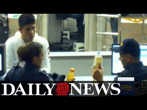 Border control agents encourage teen to sip liquid meth