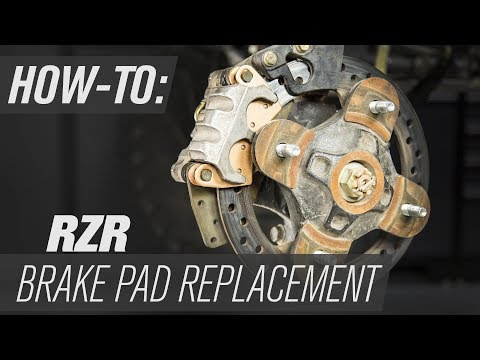 How To Change Brake Pads On A RZR UTV
