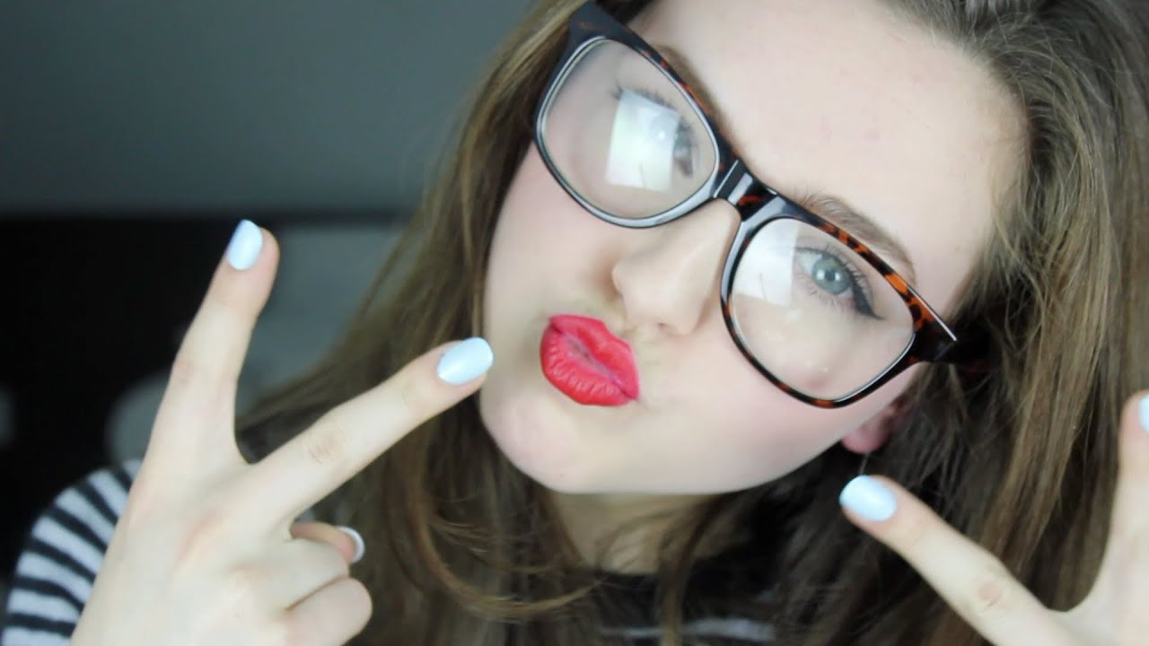 How To Look Like Taylor Swift Make Up Nerd Glasses Youtube
