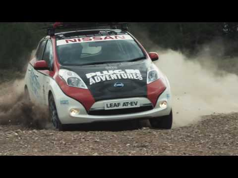 Nissan LEAF AT-EV: The first electric vehicle to enter the Mongol Rally