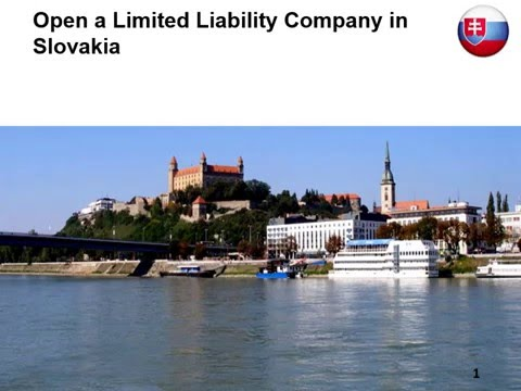 Open a Limited Liability Company in Slovakia