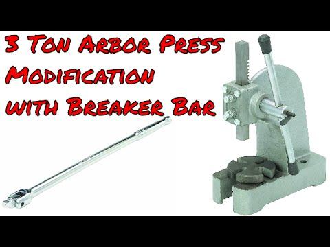 3 Ton Arbor Press Modification