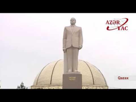 Azərbaycan Prezidenti İlham Əliyev...