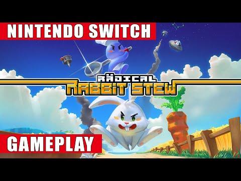 Radical Rabbit Stew Nintendo Switch Gameplay