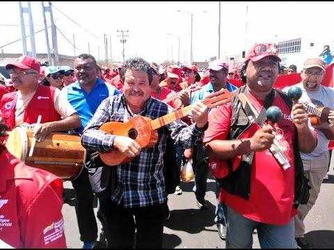 Marcha de los Claveles Rojos 2015, a 30 años de siembra de Alí Primera (2)