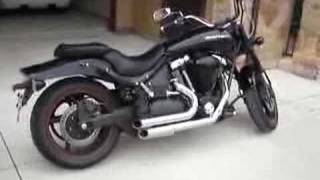 2007 Yamaha Midnight Warrior 1670cc Samson street sweepers