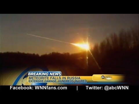 Russian Meteor Caught on Camera
