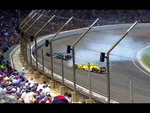 99th INDY 500 Highlights from Turn 1 - May 24, 2015
