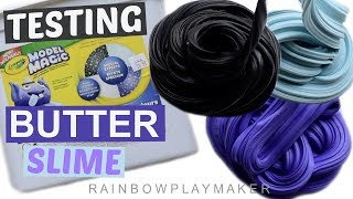 DIY BUTTER SLIME WITH MODEL MAGIC SPECIAL EFFECTS SHIMMER PACK! BEST DIY BUTTER SLIME RECIPE!