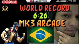 World Record Mortal Kombat 3 SpeedRun- 6:26 - BySpeed