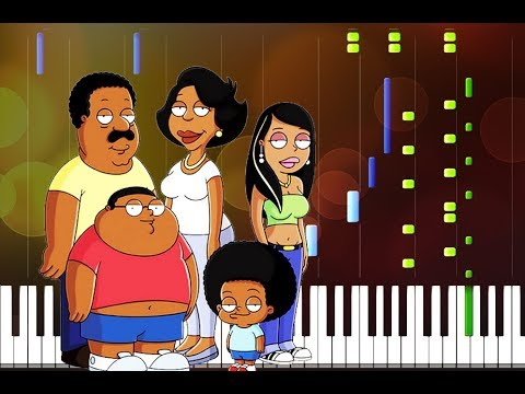 The Cleveland Show Piano Tutorial (Synthesia Cover)
