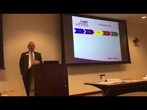 Buffalo Niagara Partnership Cybersecurity Seminar NIST Framework 2017