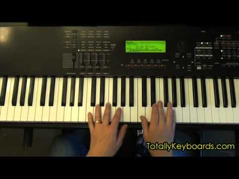 Tiny Dancer Keyboard Piano Lesson