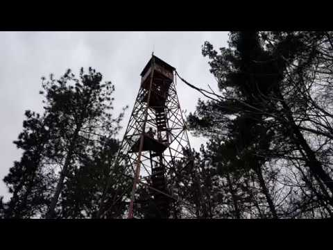 Abandoned House - Watch Tower, House Built Around Camper (You Wouldnt Climb This!)