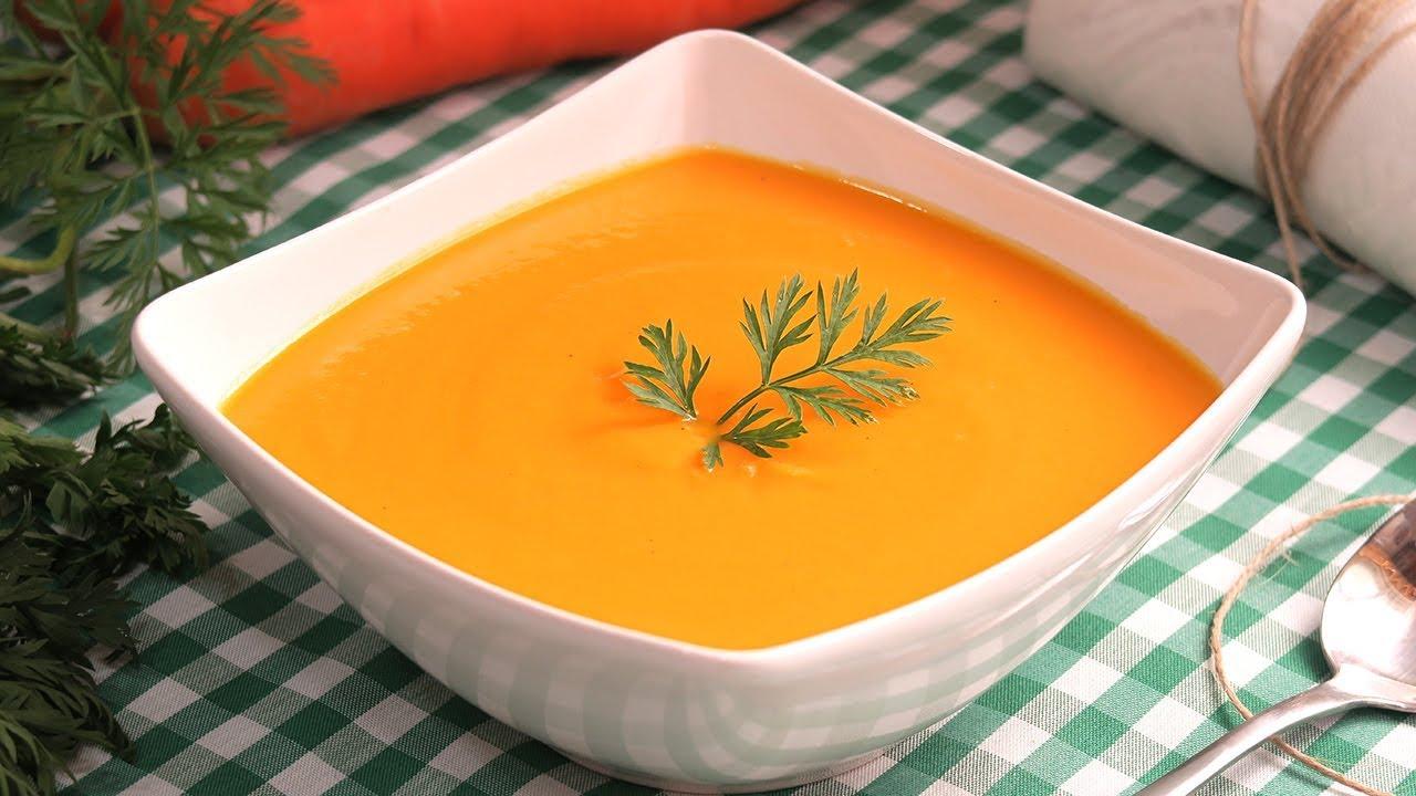 receta crema zanahoria y patata