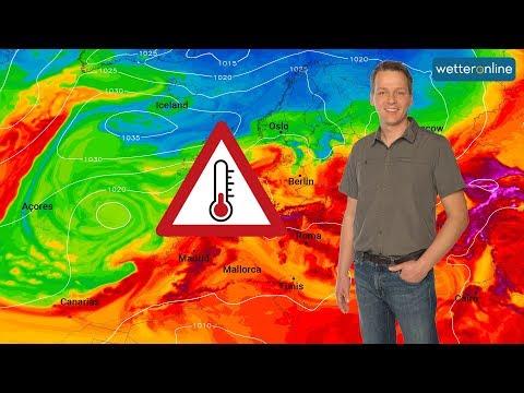 Wetter: Hitzewelle im Anmarsch (21.06.2019)