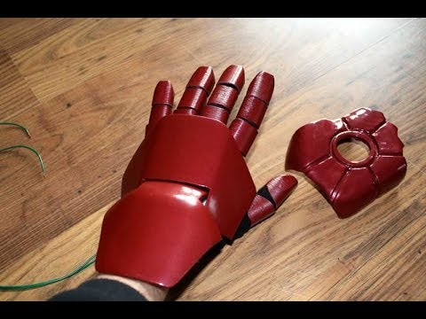 iron man power suit 28 starting the gloves james