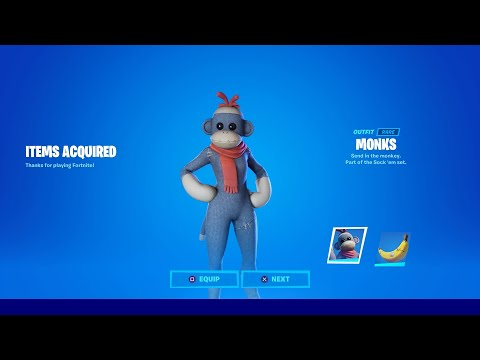 HOW TO GET NEW MONKS SKIN IN FORTNITE! NEW FORTNITE MONKS MONKEY SKIN
