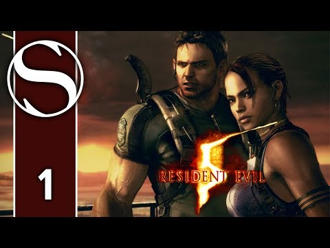 Resident Evil 5 Professional Coop With Suzy Lu Part 1