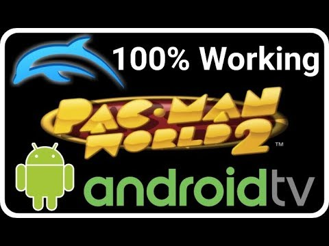 TUTO: PACMAN WORLD 2 HD (GCN) 100% Working - ANDROID TV NVIDIA SHIELD