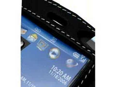 CarryMobile Leather Case for Samsung SGH-i600 - Sleeve Type