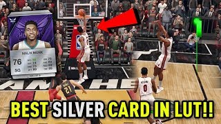 THE BEST SILVER CARD IN NBA LIVE 18 ULTIMATE TEAM!! PS4 LUT GAMEPLAY!! | THE ULTIMATE TEAM #1