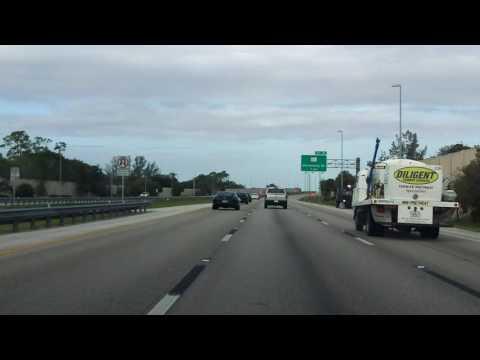 Sawgrass Expressway (FL 869 Exits 21 to 11) southbound