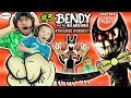 DAD CAPTURED! Bendy and the Ink Machine #3 Haunts Our House FGTEEV Chapter 2 Boss 👹 SCARY Kids Game
