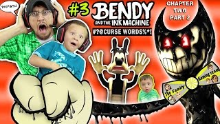 DAD CAPTURED! Bendy and the Ink Machine #3 Haunts Our House FGTEEV Chapter 2 Boss 👹 SCARY Kids Game thumbnail