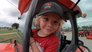 Houston Picked Out a Tractor BUT He Wants to Give It To You!