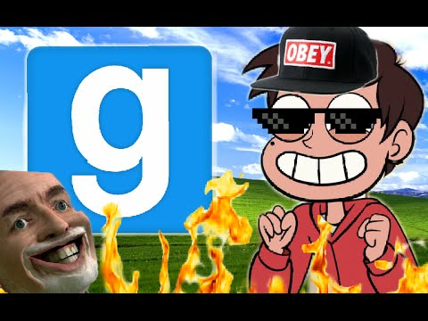 GARRYS MOD ON ANDROID!!!