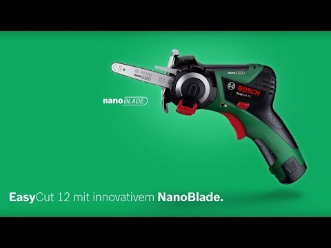 Bosch stellt vor: EasyCut 12 mit NanoBlade-Technologie