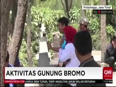 CNN Indonesia News Room - Aktivitas Gunung Bromo