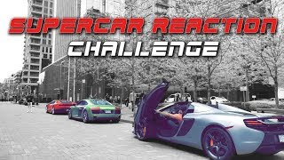 Which car gets more attention? A Lamborghini Huracan, Audi R8 and o...