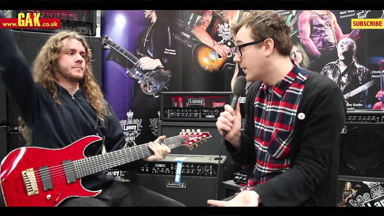 ibanez rgix28feqm demo at headstock expo 2014 youtube