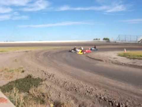 8-6-2011  open kart heat race south texas speedway