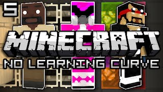 Minecraft: No Learning Curve 2 w/ Mark and Nick - MUSIC MAKERS (Part 5)