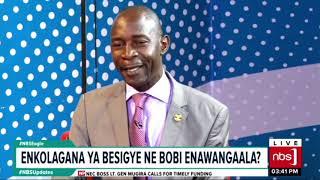 Enkolagana Ya Besigye Ne Bobi Wine Enawangala? |NBS Eagle seg2
