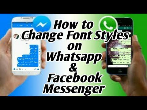 How To Write WhatsApp & Facebook Messages In Different Fonts & Styles Hindi/Urdu